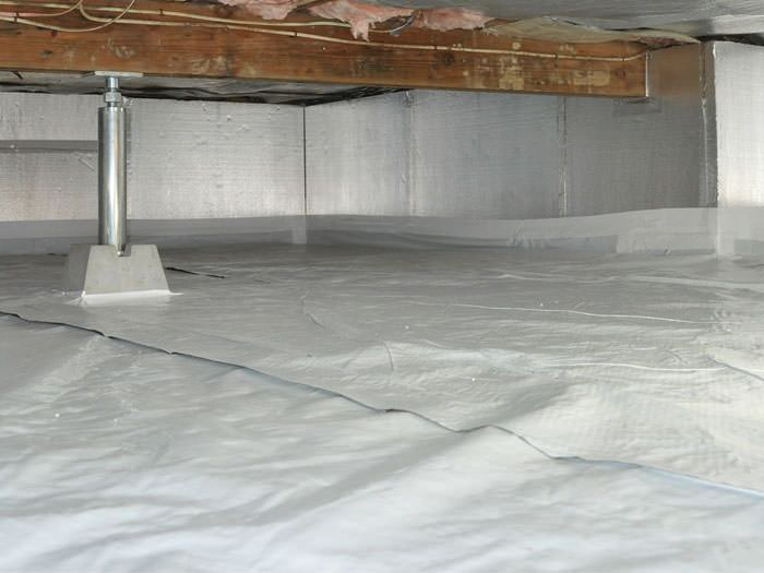 What is the best type of insulation to put into our crawlspace to keep